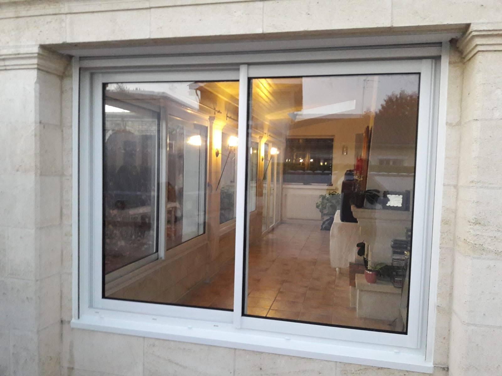 pose de fenêtres en PVC